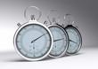 stopwatch, chronomètre fond gris