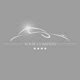 Fototapety logo automobile, logo voiture, logo garage, logo auto