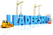 Building Leadership ,representing business development.
