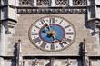 München, Turmuhr neues Rathaus
