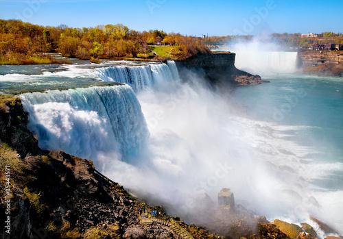 Amerikanische Seite von Niagara Falls