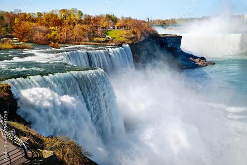 Fotobehang Watervallen Niagara falls