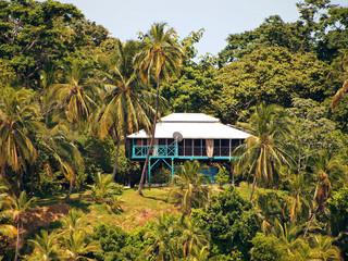 Caribbean stilt-house