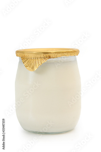 Staande foto Zuivelproducten yaourt