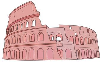 colosseo rosa