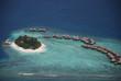 Malediven Trauminsel Wasserbungalow
