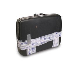 Koffer mit TSA- Klebeband