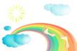 rainbow  traces