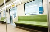 Fototapeta pojazd - autobus - Metro