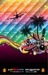 Tropical Dance Disco Flyer for Latin music event