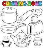 Coloring book domestic collection 1