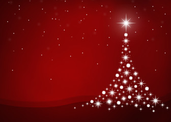 X-MAS *** fir tree background