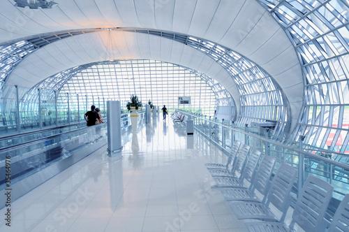 Flughafen Terminal - Abflug Gate - 35464976