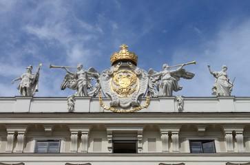 Facade of Hofburg Palace