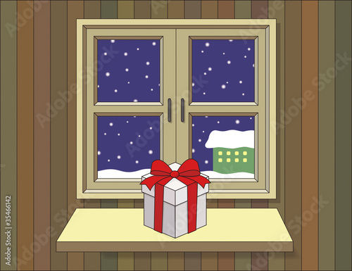 窓辺のプレゼント