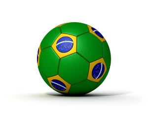 Fußball Brasilien 2014 3D Visualisierung