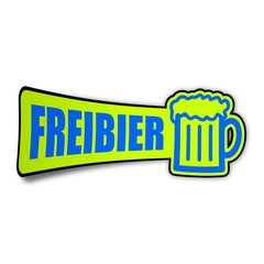 sticker masskrug freibier 1