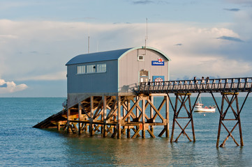 Lifeboat Station.