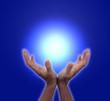 Beautiful Blue Healing Energy