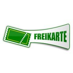 sticker ticket freikarte 1