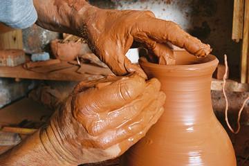 Métier : potier, poterie