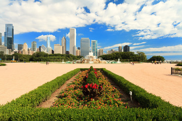 Grant Park Downtown Chicago