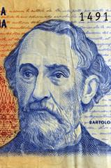 Bartolome Mitre - Peso argentino