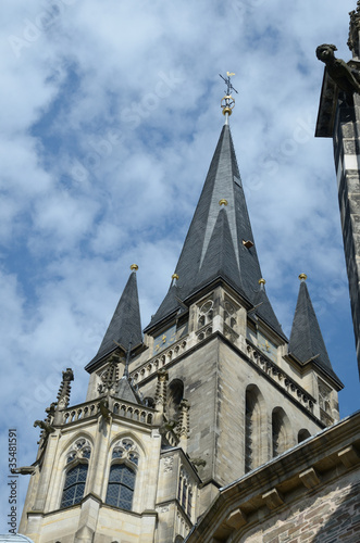 The Cathedral in Aachen (Germany)