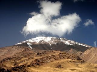 Volcano Demavend 5700 meters, Iran