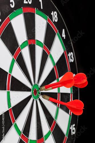 Red darts