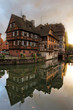 Half-timbered houses in Petite-France, Strasbourg, France