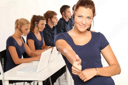 Motivierte Mitarbeiter