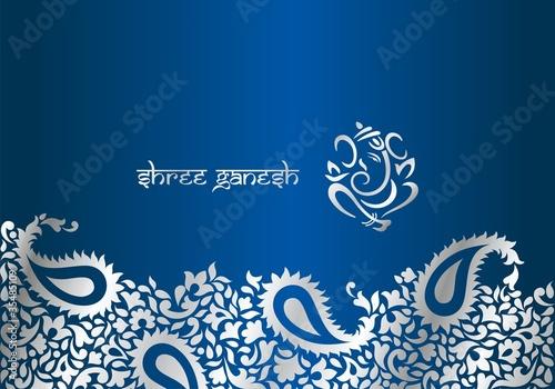 Illustration Wedding Background Design Invitation Card Wedding Bouquet