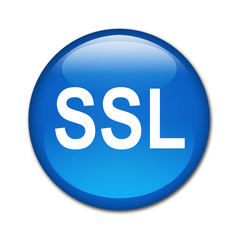 Boton brillante texto SSL