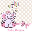 elephant Girl Baby Shower