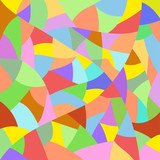 Multicolored abstract quilt pattern background
