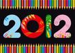 2012 colorato matite 4