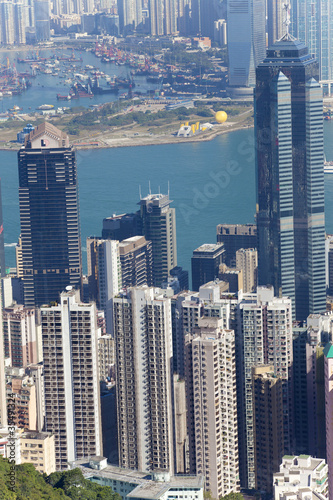 city view of Hong Kong