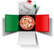 Box pizza made in Italy