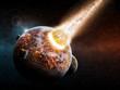 Leinwandbild Motiv Earth Apocalypse