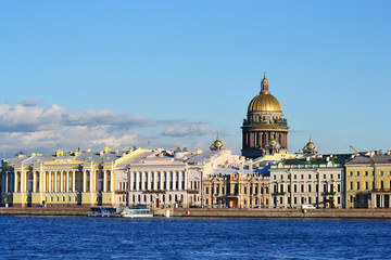 View of the St.Petersburg, St. Isaac's Cathedral