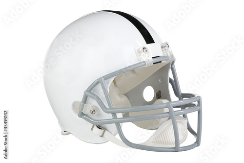 Football Helmet Facing Right