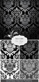 Awesome Damask Floral Pattern poster