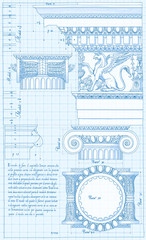 Blueprint - ionic architectural order