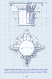 Blueprint - chapiter- hand draw sketch composite order