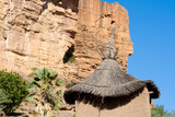 The Bandiagara Escarpment, Mali (Africa).