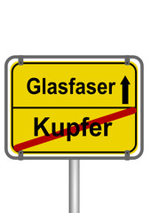 Glasfaser vs. Kupfer