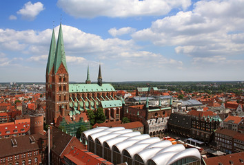 St. Mary's Church in Luebeck