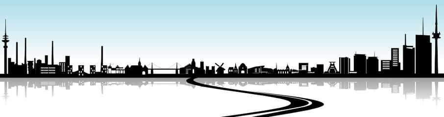 Essen-Duisburg Skyline