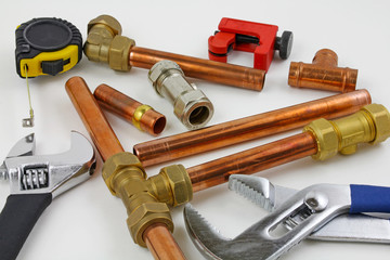 plumbers bits and tools